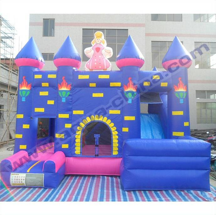 Inflatable Princess Jumped Combo