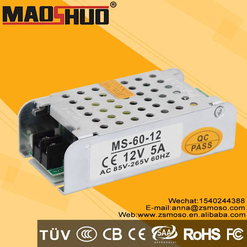 DC12V 60W led lighting power supply
