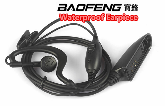 Hot selling Baofeng Waterproof Earphone