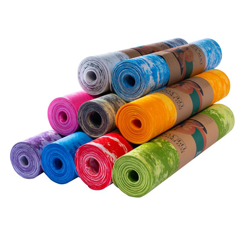 Camouflage TPE Yoga Mat-kmt04