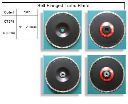 Self Flanged Turbo Blade