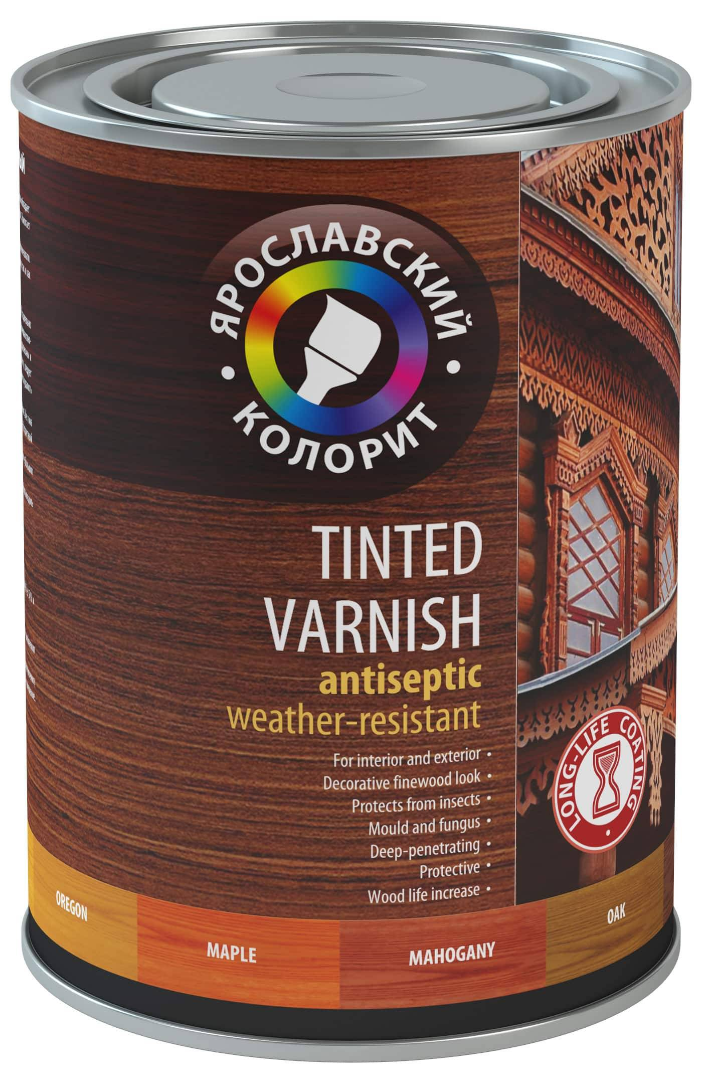 Alkyd Color Wood Varnish