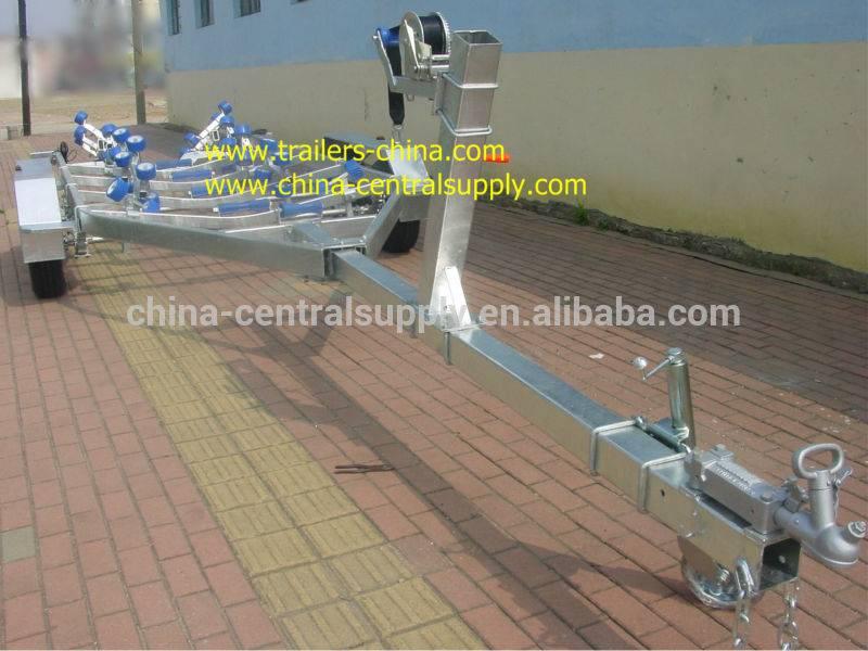 8.2m heavy-duty Boat trailer