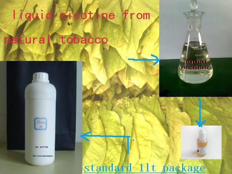 Pure nicotine, PG VG based nicotine with USP grade,99.95% to E-liquid