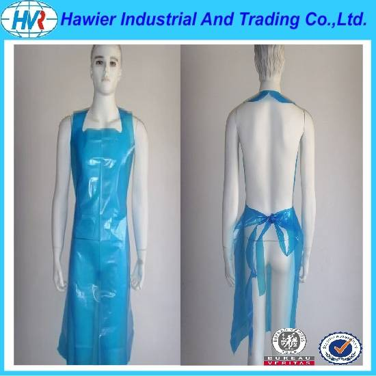 2016 Comfortable disposable medical plastic children/Kitchen apron at Weifang Factory