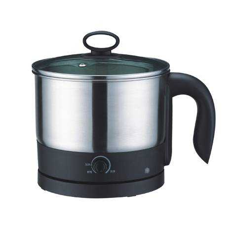 1.2L power 600W stainless steel electric jug kettle / Multi-Cooker