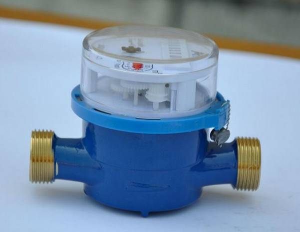 Single Jet Dry Dial Brass Body Water Meter