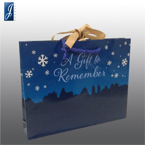 Customized medium gift bag for REMEMBER