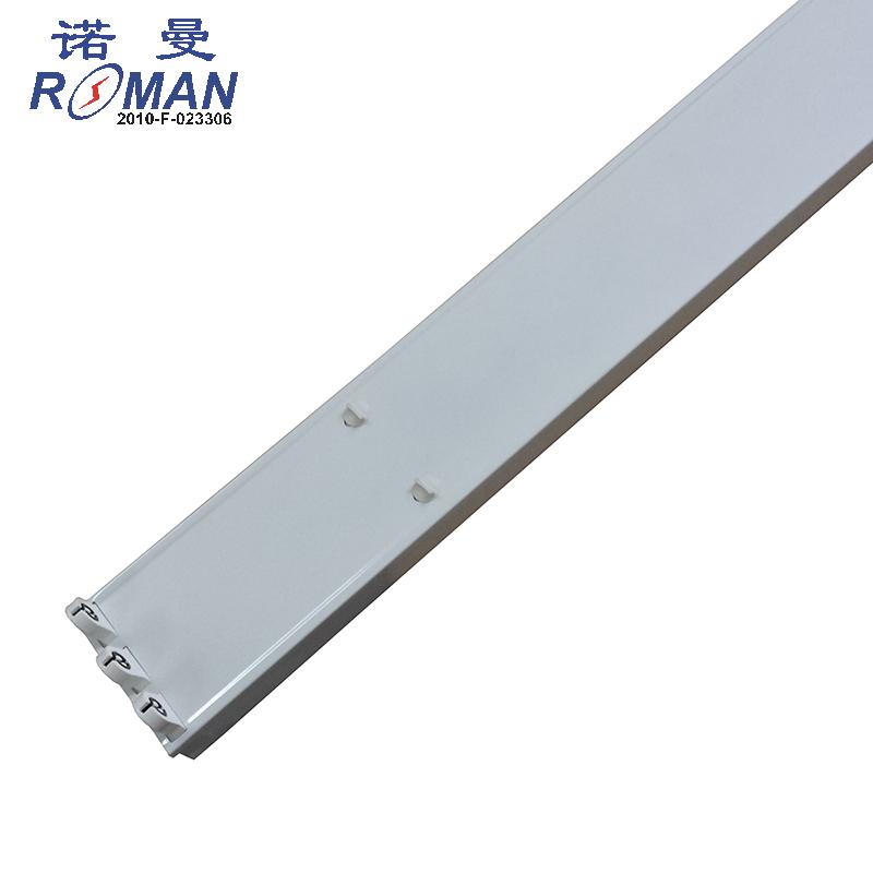 CE cerfiticated 2-5ft T8LED triple tube light fixtures LED lamp bases/box/batten/housing