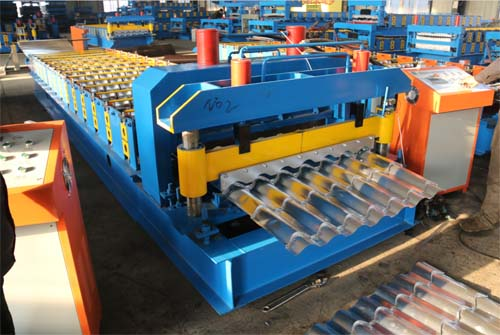 Metal roofing roll form machine, double layer roll form machine, steel plate roll machine,glazed