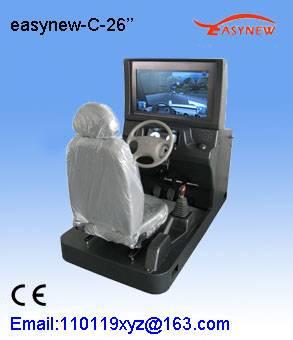 Vehicle driving simulator