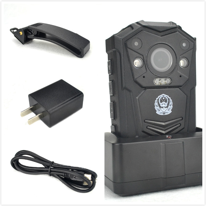 Wearable Body Worn Camera Night Vision,1296p Resolution,160 Degree Angle Lens