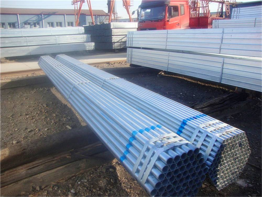 Q235 48mm Scaffolding Hot DIP Galvanized Round Steel Pipe