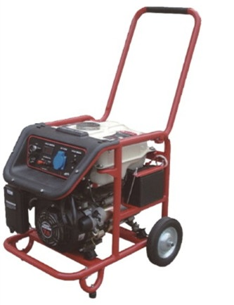 7.5KW Gasoline generator sets (With recoil start+Single phase+wheel and handles)