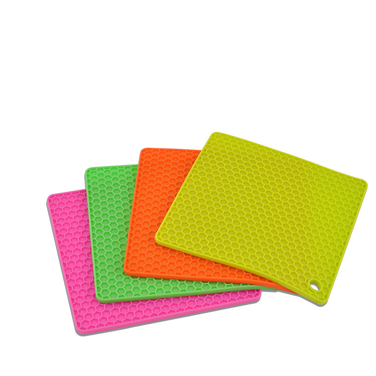 Silicone Pot Holders,Non-slip, Insulation, Durable, Flexible Hot Pads