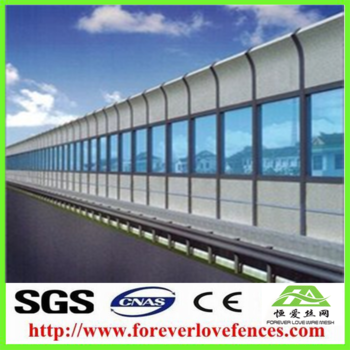 China factory manufacture highway noise barrier price sound barrier