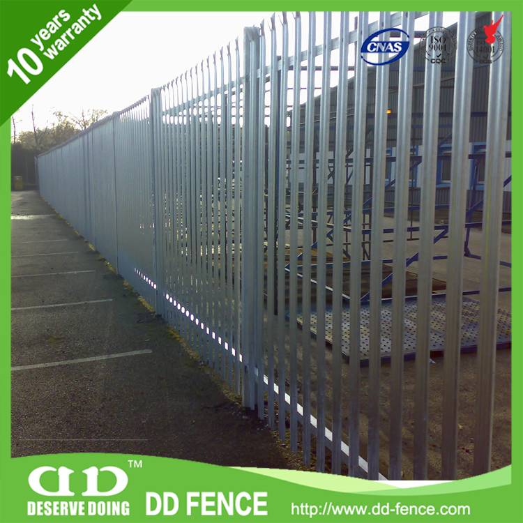 Anti-Ram Barrier With High Security Steel Fence
