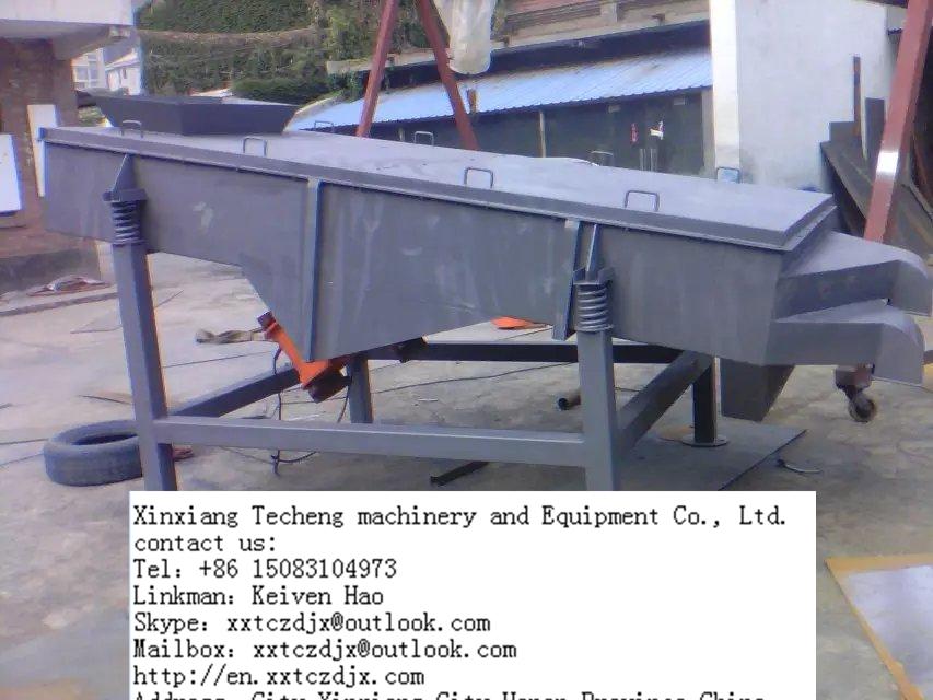 granular material chalk sieving machine