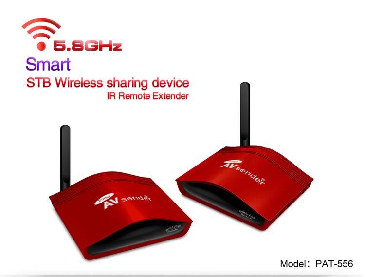 5.8GHz Smart Wireless AV Sender/Audio Video Transmitter Receiver