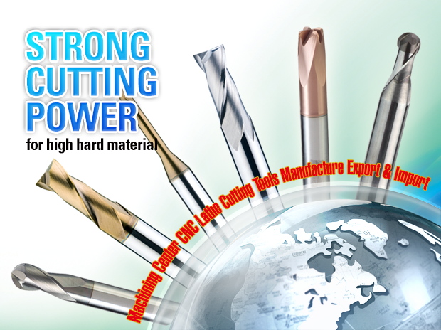 Korea Carbide Endmill, Strong for CBN, High Hardened Steels,Diamond Coating End Mill