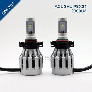 3HL 2000LM PSX24 LED Light Bulb DC12-24V with CE,RoHS