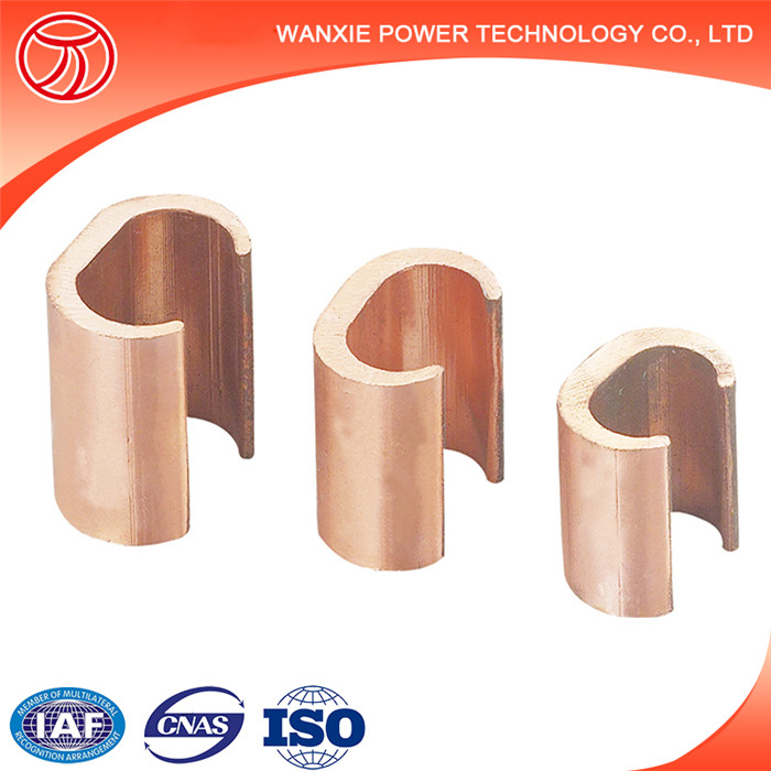 Copper C Clamp C type copper connector clamps Copper C Crimps connector