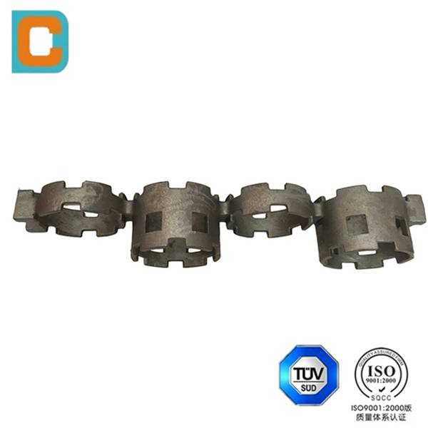 High-temperature alloy casting