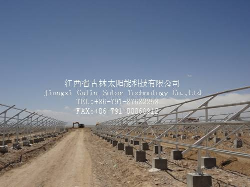 Solar ground mounting system