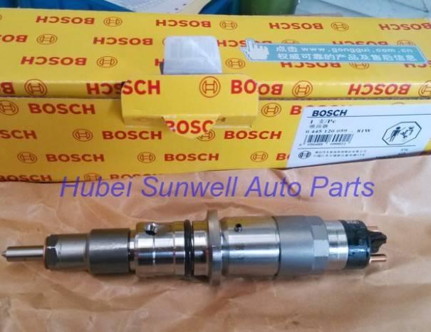 Komatsu PC200-8 injector 6754-11-3010 / 0445120059 Cummins QSB engine injector 5263262 / 4945969