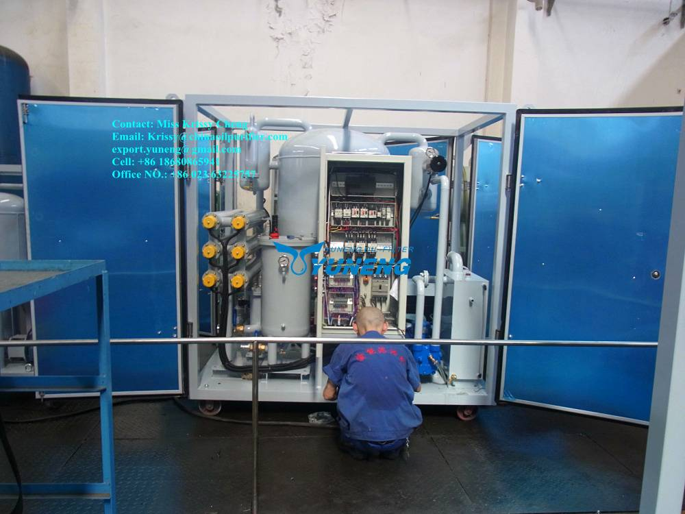ZJA Series Transformer Oil/Insulating Oil/Insulatin Oil Filter Machine