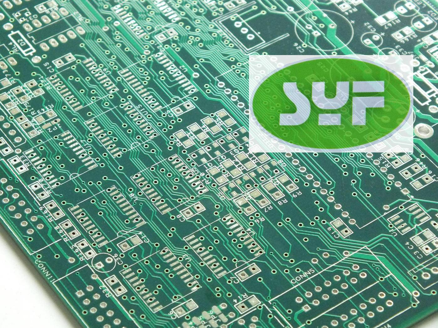 multilayer pcb with HASL(lead-free) surface finish - Shenzhen SYF
