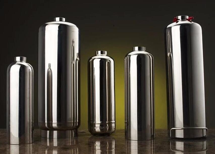 1kg Portable Stainless Steel Cylinder for Fire Extinguisher with CE Standard for Factory Price