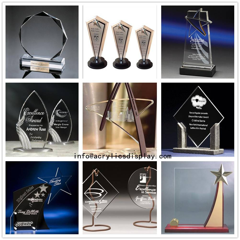 High Quality Acrylic Display Acrylic Trophy