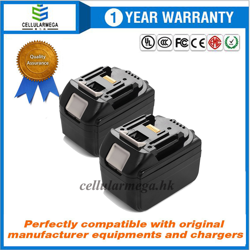 Cellularmega 18v 5.0AH LXT Lithium-Ion Battery with LED Indicator for Makita BL1850 BL1840 BL1830