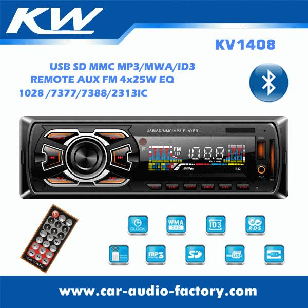 KV1408 Car MP3 player with LCD screen