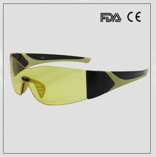 Cool Yellow Lenses Night Sports Sunglasses with Custom Logo