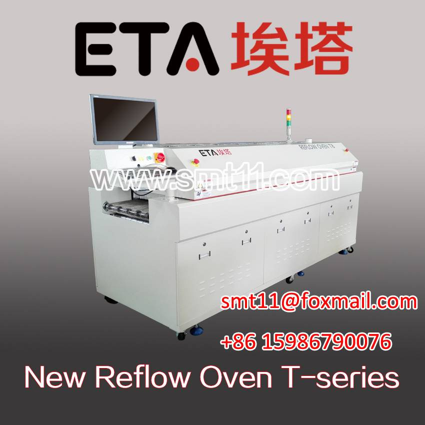 lead-free hot air reflow oven T8