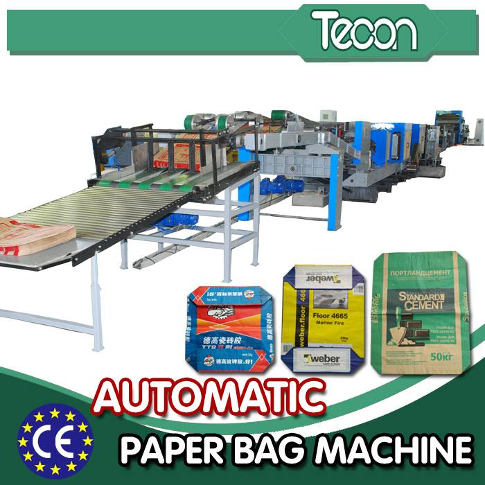 Energy Conservation Kraft Paper Bag Making Machine for Cement