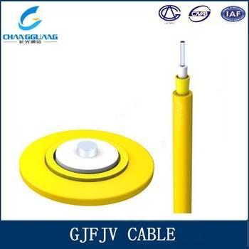 High quality Indoor 2 Core GJFJV LSZH Duplex Fiber Optical Cable