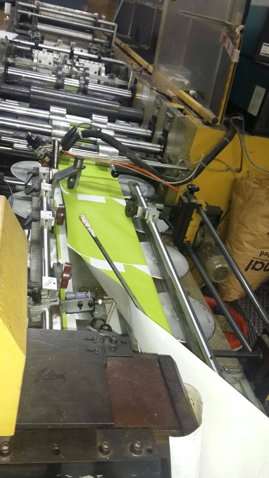 SOS Paper Bag Making Machine with Twisted Rope Handle