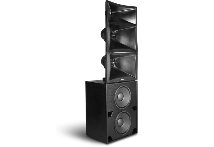 double 15 inch three way passive screen system speaker TC845