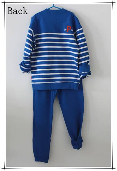 2015 high quality children knitted sport casual set