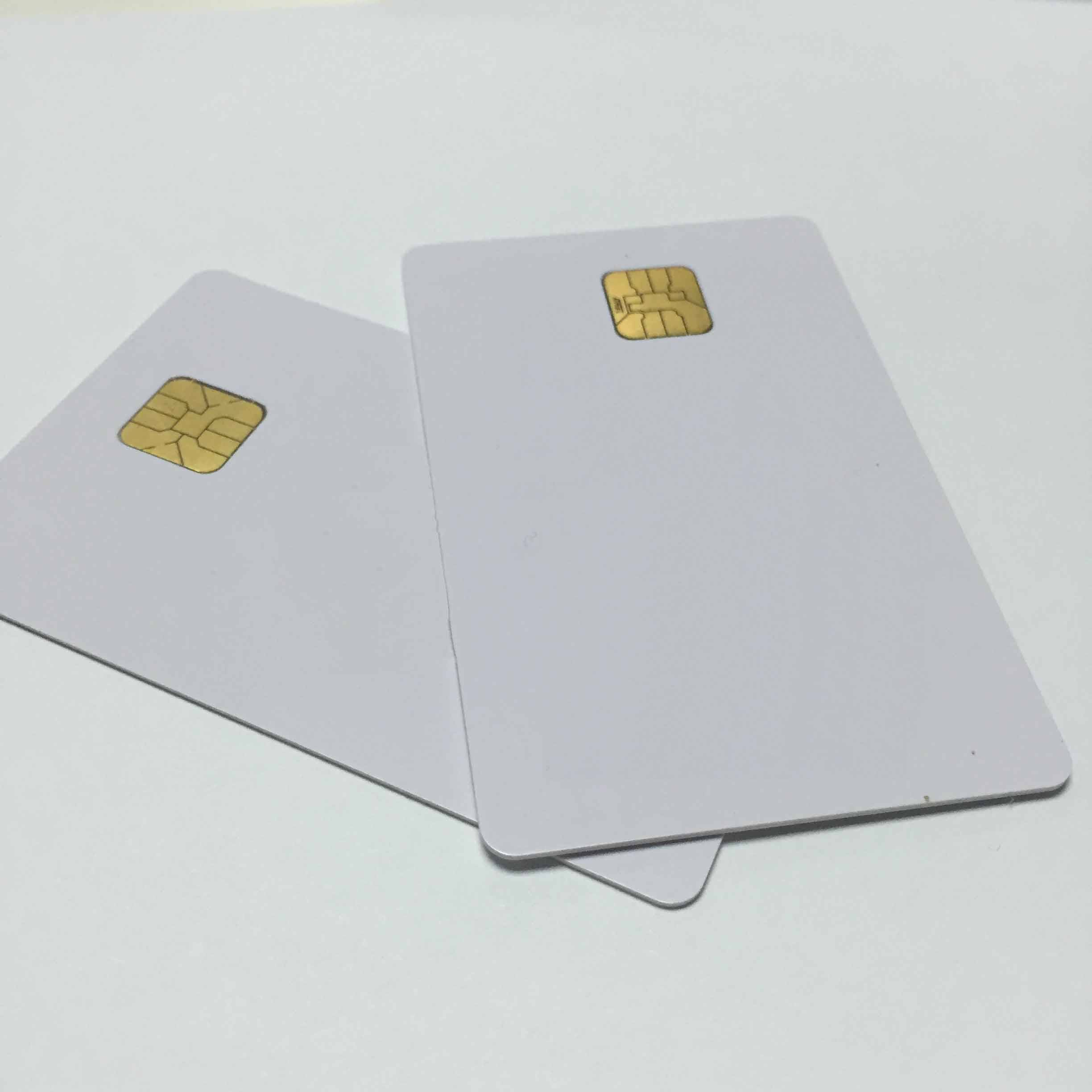 Plastic smart card contact type ic/id card