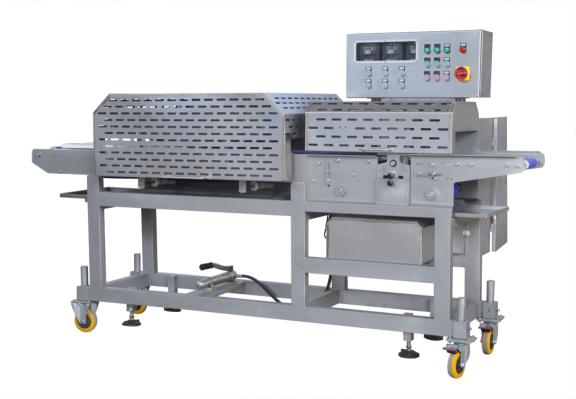 meat slicing -strip cutting machine