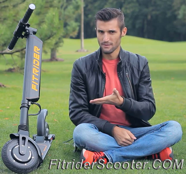 Hot Model Fitrider Scooter electric mobility with new design fitcoo tech