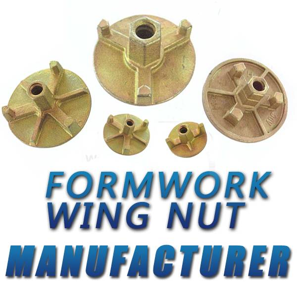 Ductile Iron Casting Formwork Round Wing Nut