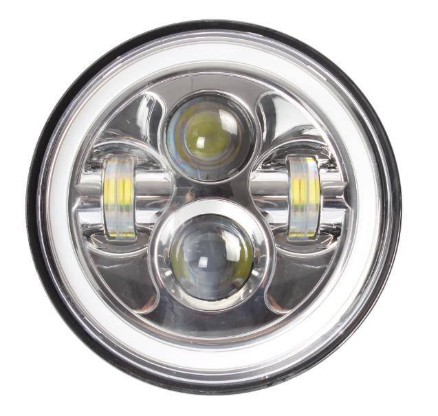 2016 new product jeep wrangler7inch 70watt led headlight