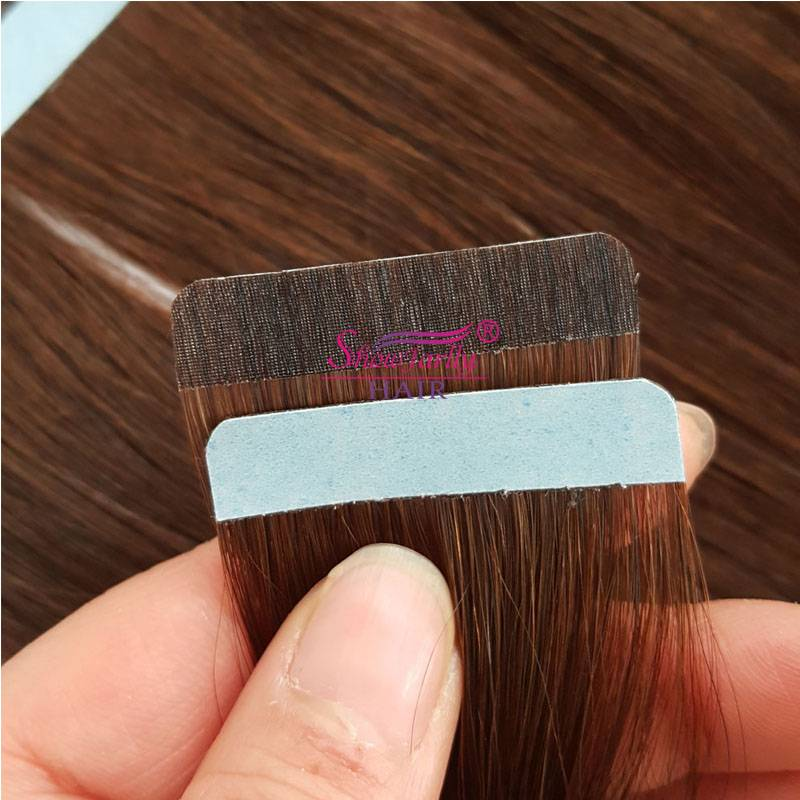 PU weft hair extensions