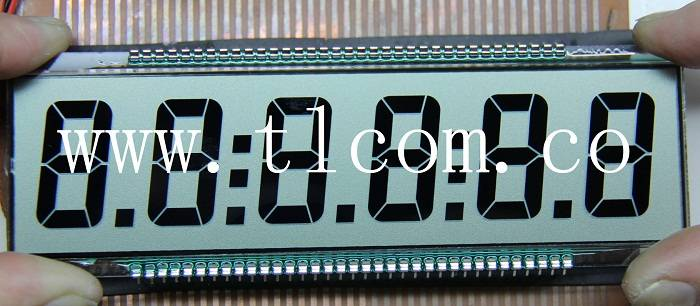Monochrome custom lcd module