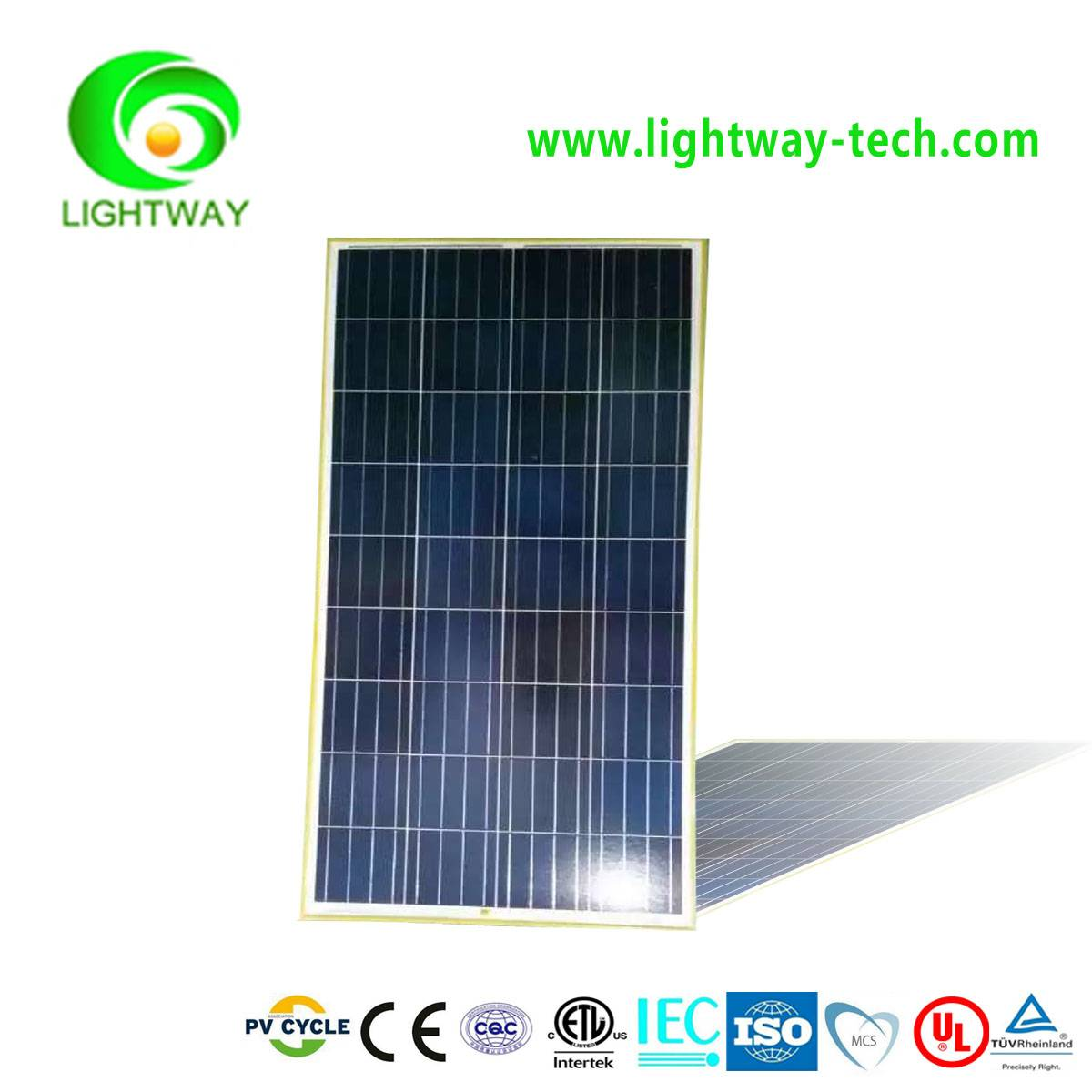 Hot Sale Cheap Price  145w polycrystalline A Grade solar moduls pv panel